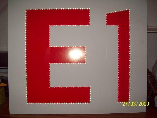 Transformerless LED Sign Project matkap isleri led delikleri