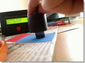 PIC16F877 İle lcd göstergeli renk algılayıcı devresi
