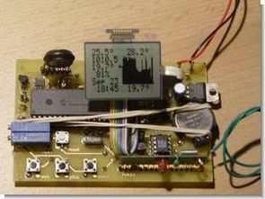 PIC18F452 rf basınç nem sıcaklık saat takvim ccsc