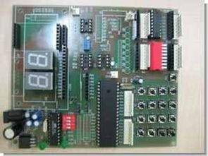 8051 programlama test deney devresi