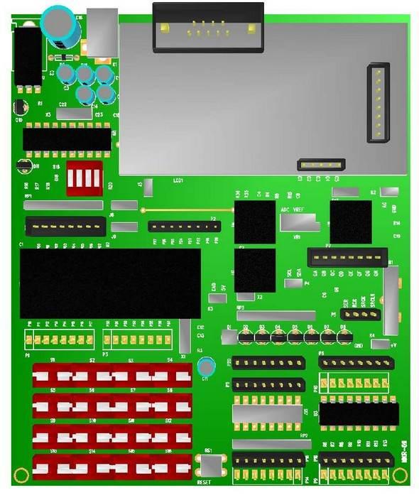 8051-develop-board-3d