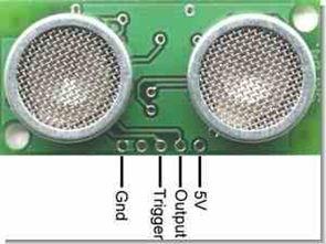 8051 SRF04 ile ultra sonik mesafe ölçüm devresi