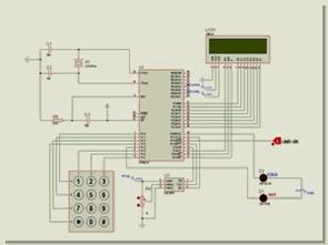 8051 ile lcd ekranlı sıcaklık denetimi lm35 adc0831