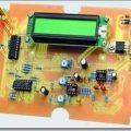 Ses sinyal ölçümü dijital milivolt metre