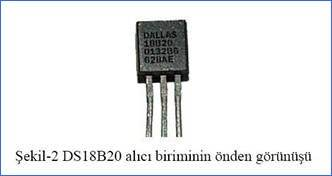 PIC16F877 LCD Digital Thermometer Circuit DS18B20 ds18b20 sayisal sicaklik algilayicisi