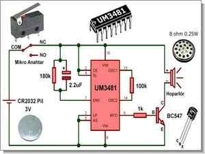 Temel elektrik elektronik dersleri basit devreler