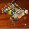 2X22 watt tda1554q lm1036 ton kontrollü anfi devresi