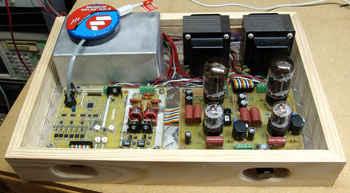 MiniTron Amplifier dspic30f2023 lambali anfi smps dsp