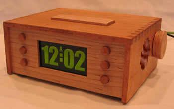 Multifunctional Alarm Clock pic24fj64 enc28j60