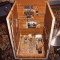 Kabin içi bass anfi 220v ac dc smps tl494 tda7294