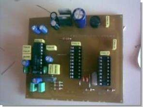 PIC16F628A ds1844 lm1036 dijital ton kontrol devresi