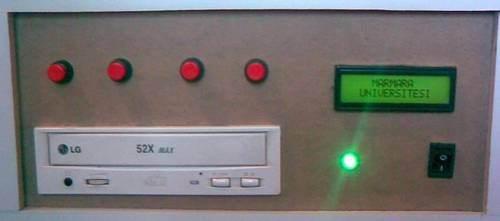LM1036 Digital Tone Control Circuit PIC16F628A DS1844 Picbasic dijital ton kontrol cdrom proje son