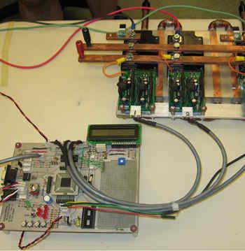inverter Project dsPIC30F6010A IGBT invertor