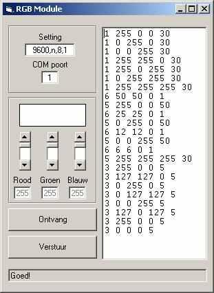 Computer Controlled Programmable RGB LED Driver PIC16F628 PWM rgb program ara yuzu
