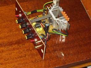 TDA1554Q Car Amplifier Circuit  LM1036  Tone Controlled tda1554q lm1036 anfi devresi
