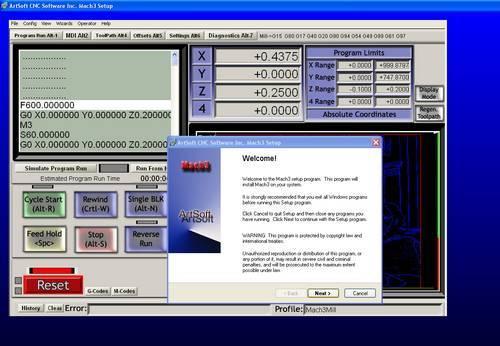 Mach3 CNC Kontrol