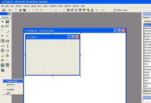 Microsoft Comm Control api modul