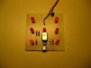 PIC12CE518 elektronik zar devresi led