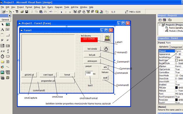 Visual Basic modul kapatma bitti
