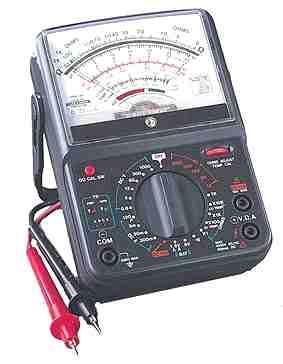 analog multimetre
