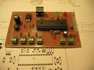 pic18f452 Morse code sound generator