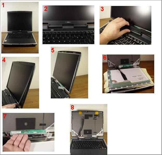 toshiba notebook tamir inverter degisim
