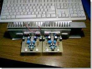 LM3886 TDA7294 köprü bağlantı için mini pcb