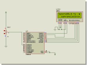 Atmel atmega projeleri l35 ısı saat display tuş takımı