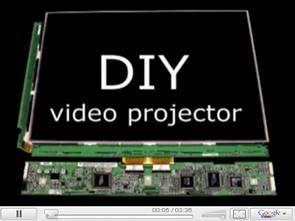 Lcd monitör ekranını projeksiyon ile kullanmak video