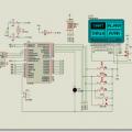 PIC18F452 ile grafik lcd saat, tarih ve alarm devresi
