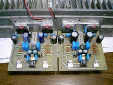 lm3886t tda7294s mini pcb