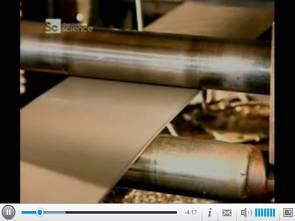 Otomotiv yağ filtrelerinin üretimi video