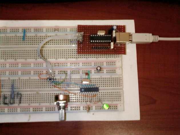 USB UART Converter PIC16F88 Circuit Attiny2313 Attiny 2313 usb uart