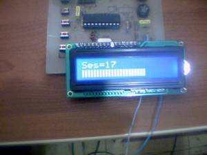 Digital Tone Control Circuit Atmel ATTINY2313  LM1036 LM1036 Attiny2313 ses 3 lcd