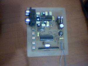 Digital Tone Control Circuit Atmel ATTINY2313  LM1036 LM1036 Attiny2313 ton kontrol 1