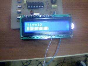 Digital Tone Control Circuit Atmel ATTINY2313  LM1036 LM1036 tiz ton kontrol 6 lcd1
