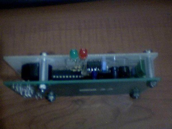 PIC16F88 SN75176 CCS C EM4100 RF ID Reader Project RF ID reader PIC16F88