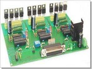 CNC 3 Axis PC Paralel Port Step Motor Kontrol Kartı