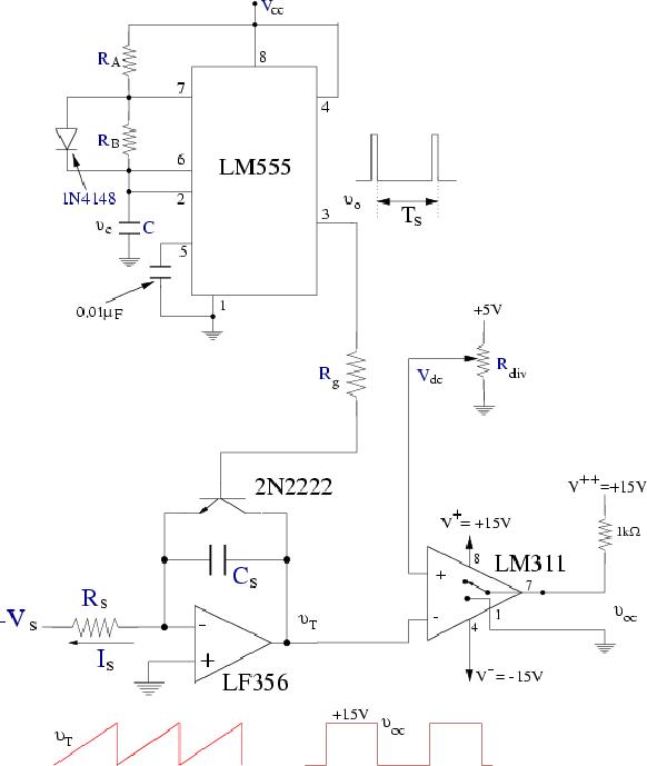 lm311 ne555 switching anahtarlama