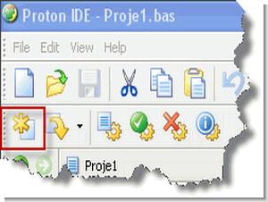Proton Plus ile PIC Programlama Bölüm 1