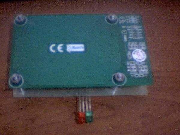 PIC16F88 SN75176 CCS C EM4100 RF ID Reader Project rf id pcb modul ust