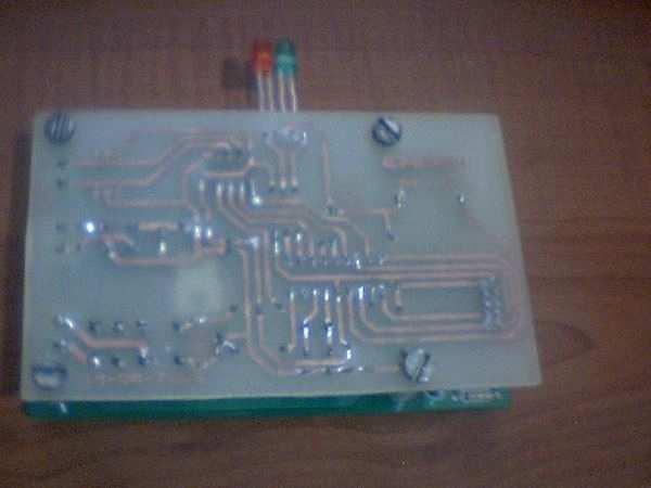 PIC16F88 SN75176 CCS C EM4100 RF ID Reader Project rf ir reader devre alt