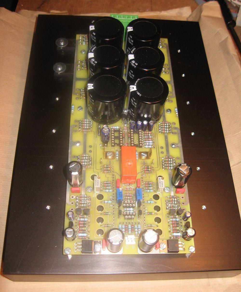 110w Rms Sine Mosfet Amplifier Circuit Irfp240 Irfp9240 Circuits Sinus Mosfetli Amfi Devresi