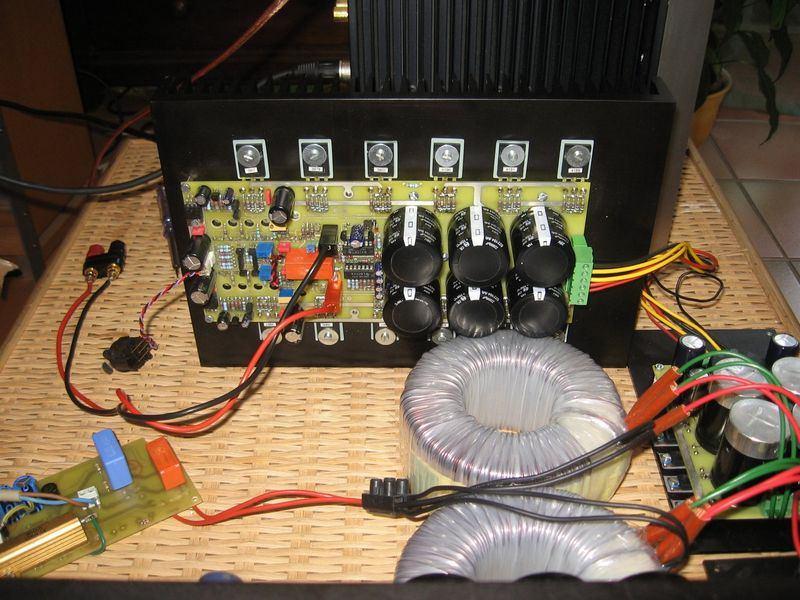 110w Rms Sine Mosfet Amplifier Circuit Irfp240 Irfp9240