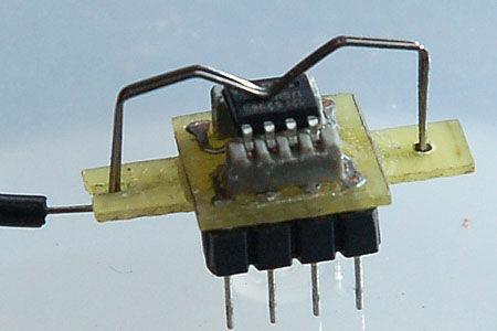 Handmade  SMD Microcontroller  Programming Socket smd soket