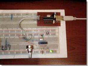 Attiny2313 pic16f88 usb uart dönüştürücü devresi