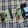 Röleli IR (kızıl ötesi) sensör devresi infrared alıcı verici