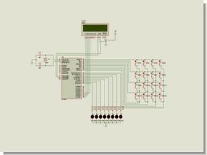 PicBasic Pro 4×4 buton keypad uygulaması pic16f877