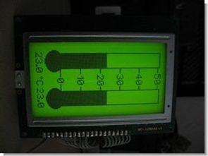 KS0108 128×64 glcd termometre ccs c pic16f88 lm35