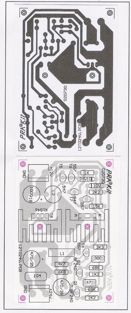 12v To 24v Dc Dc Converter Circuit